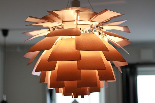 moderní lampa